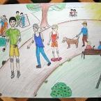 Vyhlášení výsledků výtvarné soutěže Klubu rodičů, 4. června 2013
