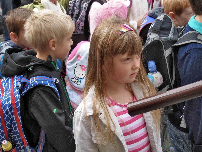 2. září 2013, noví žáci na ZŠ Heyrovského