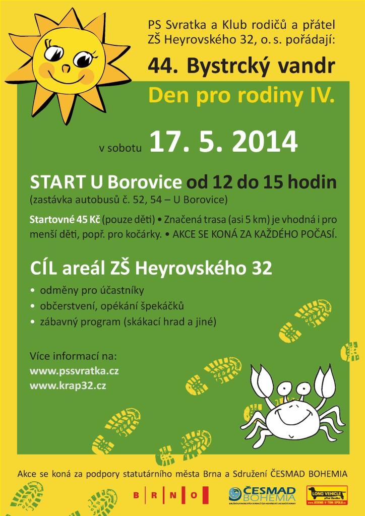 Bystrcký vandr a Den pro rodiny IV (2014)